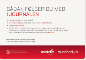 Intro til e-journal: Ring til din region...men intet nummer eller mail?